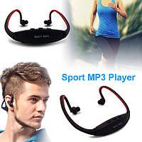 MP3 спорт плеер + наушники +FM радио
