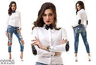 Стильная молодежная женская рубашка ИК1294