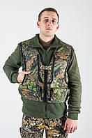 Камуфляжный жилет для охоты  Дуб зеленый