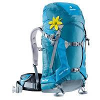 Рюкзак туристичний Deuter Rise 30+ SL denim-turquise (33661 3301) для пішого та гірського туризму, 3