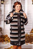 Пальто женское из шерсти В - 839
