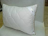 Подушка стеганая, экошерсть, 50*70, микрофибра