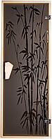 Стеклянная дверь Бамбуковый лес
