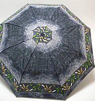 Женский зонтик полуавтомат Doppler, в серых тонах