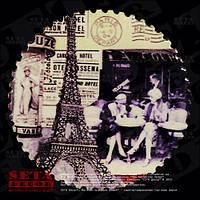 """Магнит """"Кафе в Париже"""" из серии """"Франция"""", керамика"""