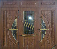 """Входная дверь """"Портала Эксклюзив"""" (3-D, патина) ― модель BIG-11"""