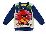 Теплая кофта Angry Birds для мальчика. 95, 100, 110, 120, 130, 140 см
