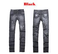 Леггинсы имитация под джинс.