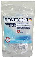 Набор для чистки зубов DM Dontodent Zahnseide-Sticks 32 stuck