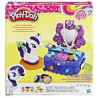 Плей-Дох Май Литл Пони игровой набор Туалетный столик Рарити Play-Doh B3400