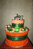 Торт из полотенец - оригинальный практичный подарок