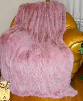 Бамбуковое розовое меховое покрывало