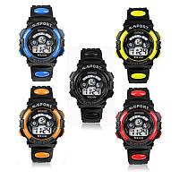 Спортивные наручные часы S-SPORT; цвет: черный