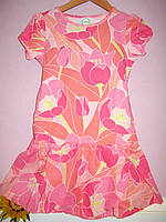 Платье детское летнее для девочки трикотажное