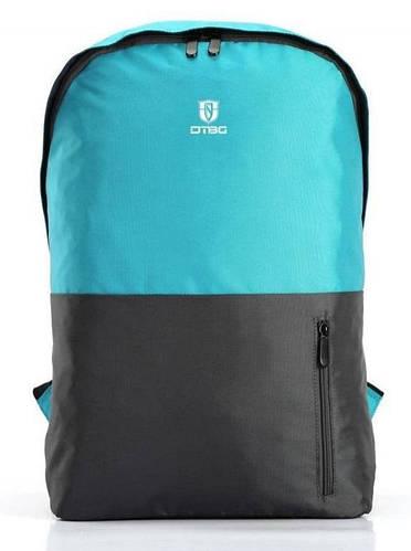 """Практичный рюкзак для ноутбука до 15,6"""" DTBG D8958BE голубой, серый"""