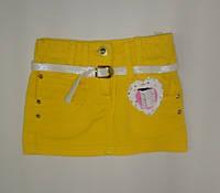 Модная летняя юбка для девочки 1-4 года