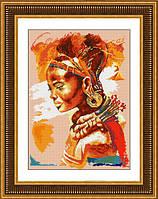 Набор алмазная вышивка (на холсте)«Африканка» LasKo TL016