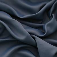 Блекаут для штор однотонный синий