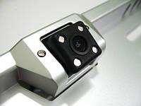 Парковочная камера в рамке номерного знака с ИК , камера заднего вида автомобиля, с разметкой зоны приближения