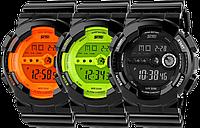 Спортивные часы Skmei 1026. Водонепроницаемые, ударопрочное стекло. Крутые часы с яркой подсветкой!