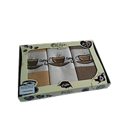 Набор кухонных полотенец Lotus Coffe 104