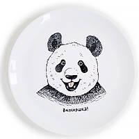 """Сувенирная тарелка """"Панда вкусняшка"""""""