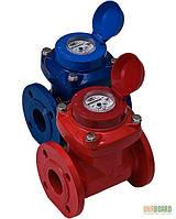 Счетчик холодной воды WPK 100, турбинный, фланцевое соединение Gross.
