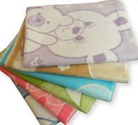 Детское одеяло байковое 110х140см