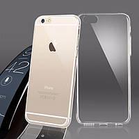 Чехол глянцевый, прозрачный для iPhone 6, 6s