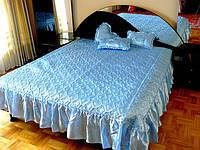 Покрывало Timonin Классика голубой