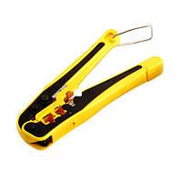 Инструмент обжимной НТ-N5684P1 Hanlong, для обжима RJ-11/12, RJ-45, профессиональный