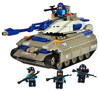 """Конструктор SLUBAN """"Танк военного спецназа"""" 260 дет, M38-B0205"""