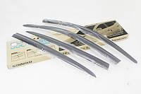 Дефлекторы окон (ветровики) на Фольцваген Гольф-5 с 05-09 хечбек (клей) 4-штуки Autoclover.