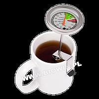 Термометр для контроля температуры воды  с клипсой