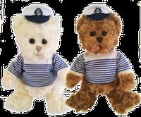 Мягкие игрушки Bukowski CAPTAIN THOMAS & TEDDY, 25cm