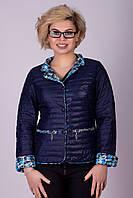 Молодежная короткая куртка-пиджак Visdeer №357.