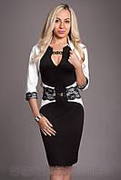 Платье женское с болеро-Реглан 444-1 (А.Н.Г.) размеры 44-46,46-48