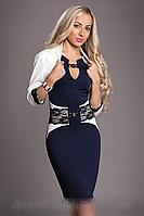 Платье женское с болеро-Реглан 444-2 (А.Н.Г.) размеры 44-46,