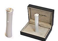 Зажигалка 11.161 Пьер Карден Lipstick зеленый металлик/SWAROVSKI ELEMENTS