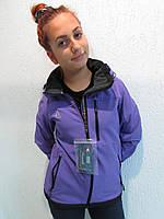 Женская термокуртка  Azimuth сиреневая (8087) код 652А
