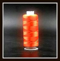 Нить для бисера (оранжевая)