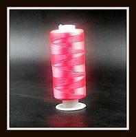 Нить для бисера (розовая)