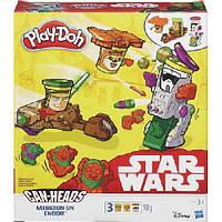 Набор для лепки Play-Doh «Транспортные средства героев звездных войн»