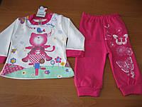 Детский костюмчик для маленькой девочки Кошечка - пенье 6,9,12  мес  Турция