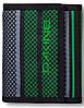 Завораживающий мужской кошелек Dakine DIPLOMAT WALLET 2015, 610934901443 verde