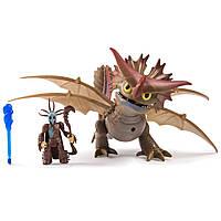 Набор Deluxe Spin Master Dragons Как приручить дракона Грозокрыл и Валка