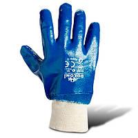 Перчатки нитриловые, вязаный манжет (850) ТМ DOLONI / Украина
