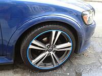 Защита литых дисков синего цвета R19-R20