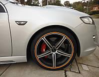 Защита литых дисков оранжевого цвета R15-R16