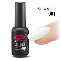Гель лак PNB (Snow white) № 1